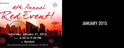 AREAA 4th Annual Red Event